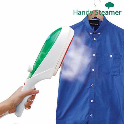 Handy Steam Travel Iron For Curtains Trousers Ties Blouses Dresses Suits Blazers