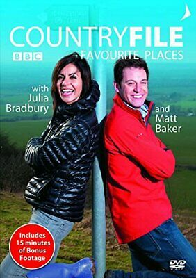 CountryFile's Favourite Places [DVD] - DVD  14VG The Cheap Fast Free Post