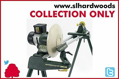 Stock Clearance Record Power CL3 Cam Lathe 5 Speed Toolrest & Stand RPLB24-48