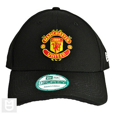 MANCHESTER UNITED  New Era Black 9FORTY Cap
