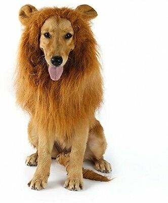 Pet Dog Costume Lion Mane Wig OUTAD Christmas Halloween Clothes Festival Fancy