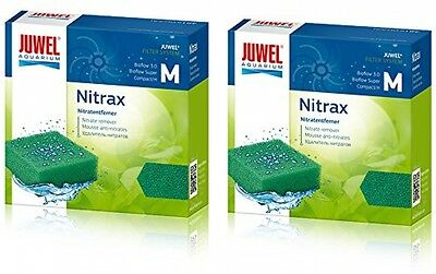 Juwel Compact Nitrax Sponge Filter Media (Bioflow 3.0) *Genuine* (2 Pack) BUNDLE