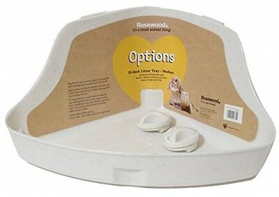 Rosewood Corner Rabbit Litter Tray, Medium