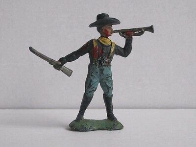 1 x CRESCENT. U.S. CAVALRY TROOPER 1960's PLASTIC TOY SOLDIERS to clear. 1/32