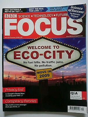 BBC Focus magazine #197 December 2008