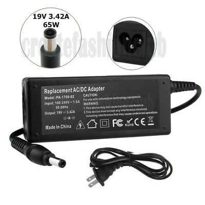 19V 3.42A Laptop AC Adapter/Power Supply/Charger Cord for Acer Gateway Toshiba