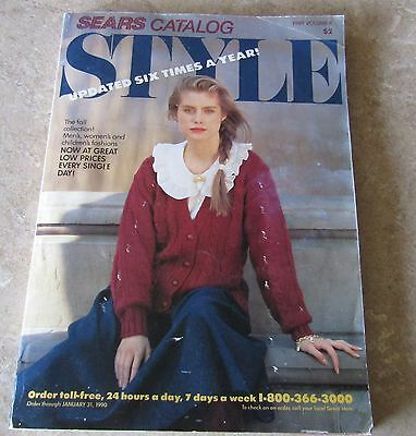 1989 Sears Catalog Mail Order STYLE Fashions Collection
