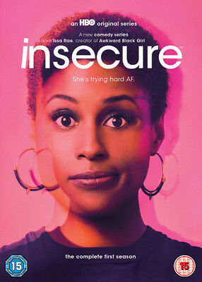 Insecure: The Complete First Season DVD (2017) Issa Rae cert 15 ***NEW***