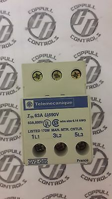 Telemecanique Electric Terminal Block for use with GV2 Series