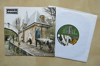 """OASIS Some Might Say UK 7"""" in picture sleeve Creation CRE 204 1995 Nr Mint"""