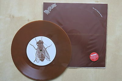 """THE WILDHEARTS Greetings From Sh*tsville UK 7"""" brown vinyl 1993 Promo sticker"""