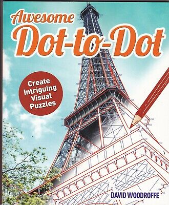Awesome Dot to Dot by David Woodroffe, Book, New Paperback
