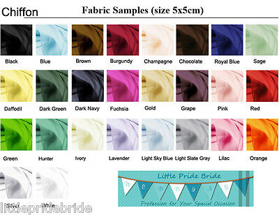 Satin color swatch fabric samples for Men's cravats