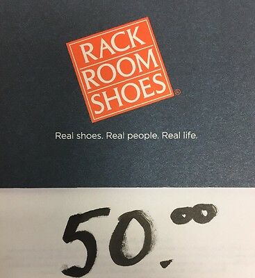 Rack Room Shoes Gift Card $50 *Fast Shipping