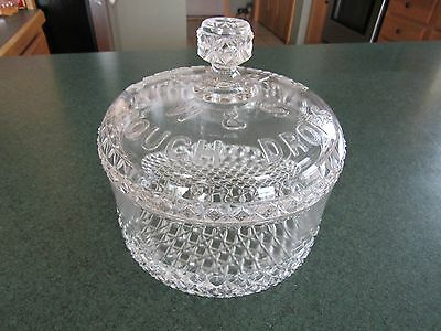 ORIGINAL c1900 W & S COUGH DROPS PHARMACY APOTHECARY CANDY STORE DISPLAY JAR