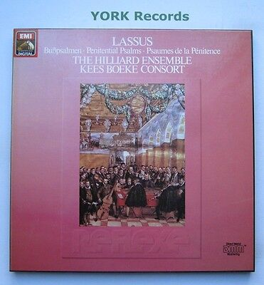 EX 27 0424 3 - LASSUS - Penitential Psalms HILLIARD ENSEMBLE- Ex 2 LP Record Set