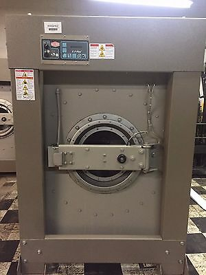 100 lb Milnor Commercial Washer Soft Mount Low Hours