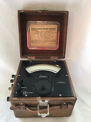 Vintage 1958 Sensitive Research Current Product Instrument Dynamometer