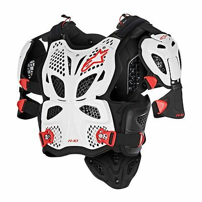 Alpinestars Racing A-10 Mens Motocross Protection Off Road Full Chest Protectors