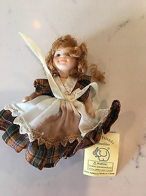 Fancy Friends Collectible Porcelain Doll #499222