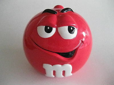 M & M's Red Candy Jar