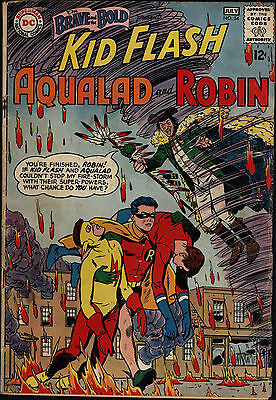 Brave and The Bold #34 Good / Very Good 1st Appearance Teen Titans DC Comics SA