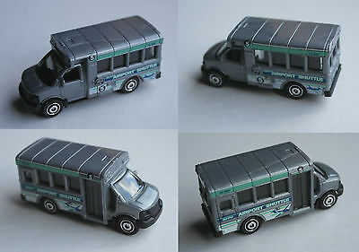 "Matchbox - GMC School Bus grau ""Airport Shuttle"""