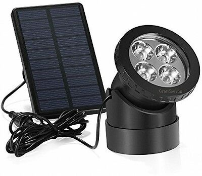 Bright Pond Lights Solar Powered Submersible LED Lights Underwater Lighting 3