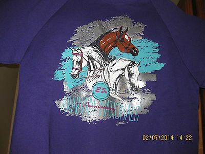 Arabian Nationals 25th Anniversary Large Sweatshirt New With Tags 1991
