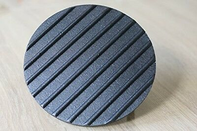 Cast Iron Grill/Bacon Press Round Shape 0.9 Kg Weight D 18cm X H 7cm