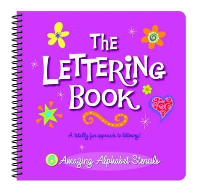 NEW The Lettering Book By Jennifer Mappin Board Book Free Shipping