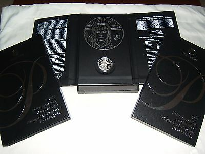 2010 W $100 1 oz proof Platinum Eagle with US Mint packaging