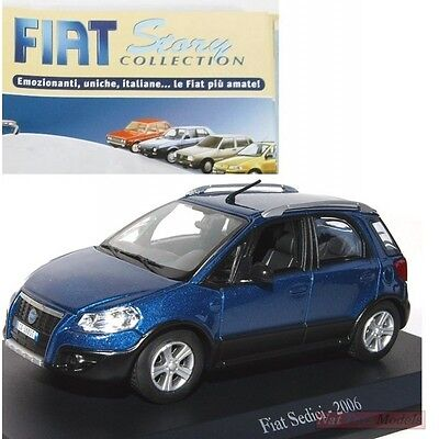 Fiat Sedici 2006 MODELLINO DIE CAST 1:43 Norev MODEL +fas Fiat Story Collection