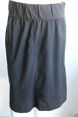 Gap Maternity Size 6 Stretch Black Skirt Poly/Wool