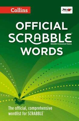 Collins Official Scrabble Words by Collins Dictionaries 9780007589166