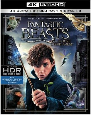 Fantastic Beasts And Where To Find Them [New 4K UHD Blu-ray] With Blu-Ray, 4K