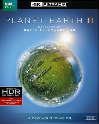 Planet Earth II [New 4K UHD Blu-ray] 4K Mastering, Amaray Case