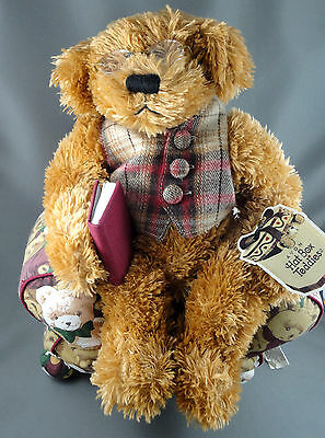 Avon Teddy Bear 12in Plush Chester Hat Box Teddies Canada Chair Adoption Tag