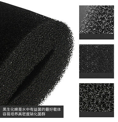 12*100cm Biochemical Filter Foam Pond Filtration Fish Tank Aquarium Sponge Pad