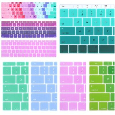 "NEW Soft Silicone Keyboard Cover Skin Protector for Apple MacBook 12"" A1534"