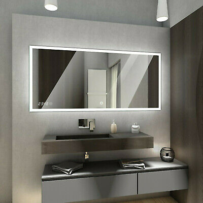 BOSTON LED Illuminated Bathroom Mirror + Additional accessories + Switches
