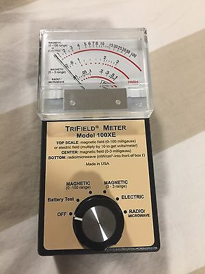Trifield 100xe EMF Meter New In Box