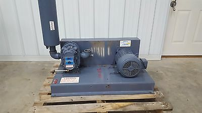 AEC Whitlock Rotary Lobe Positive Displacement Blower Package 5HP w/Silencer