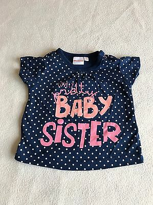 Baby Girls Clothes Newborn - Cute Sister T Shirt Top -