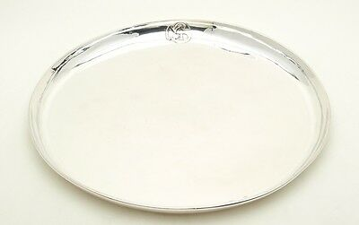 "Kalo Shop Silversmiths Arts & Crafts 15"" Round Tray"