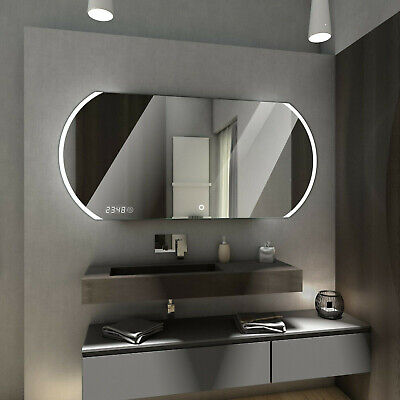 BALTIMORE LED Illuminated Bathroom Mirror + Additional accessories + Switches