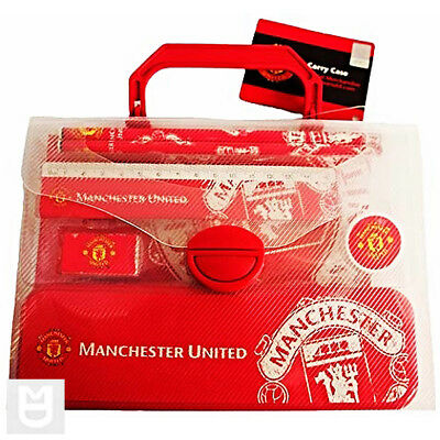 MANCHESTER UNITED School Set including Case Red/White