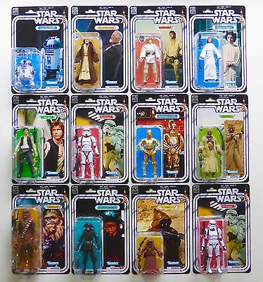 """Star Wars New Black Series 6"""" Inch 40Th Anniversary Vintage Collection Moc Tbs"""