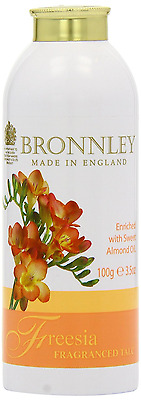 Bronnley Freesia Fragranced Talc 100g