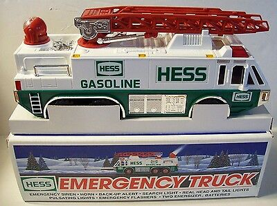 1996 Toy Hess Emergency Truck   mint in the box